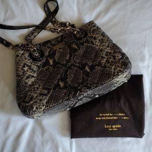 Kate Spade alligator purse